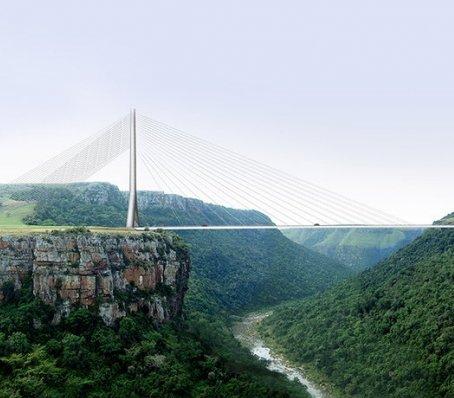 W Afryce ruszyła budowa jednego z najwyżej położonych mostów