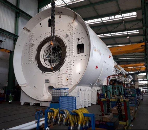 Trwa budowa maszyn TBM dla brytyjskiego megaprojektu