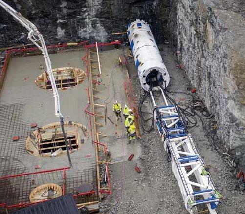 Infrastruktura dla mikroelektrowni w Norwegii budowana jest bezwykopowo