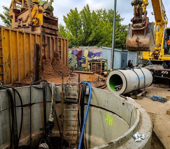 Dąbrowa Górnicza: mikrotunelowanie na budowie 5 km wodociągu