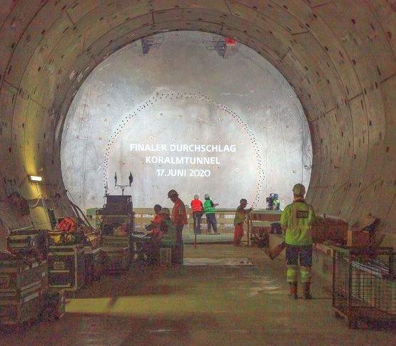 Najdłuższy tunel w Austrii już wydrążony