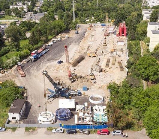 Tunel średnicowy: obie maszyny TBM są już w Łodzi