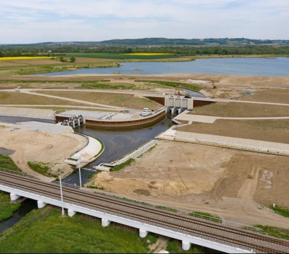 Koniec budowy zbiornika Racibórz Dolny