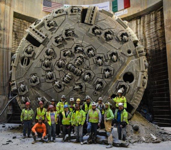 Ohio oczyszcza jezioro Erie: dwa z siedmiu tuneli gotowe