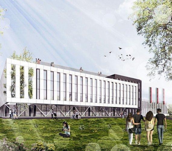 Kraków: ruszyła budowa hali dla AGH [wizualizacje]