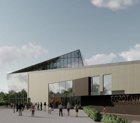 W Sosnowcu zbudują nowe Egzotarium