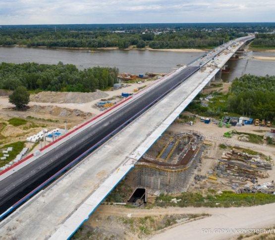S2: rośnie most na Południowej Obwodnicy Warszawy [film, zdjęcia]