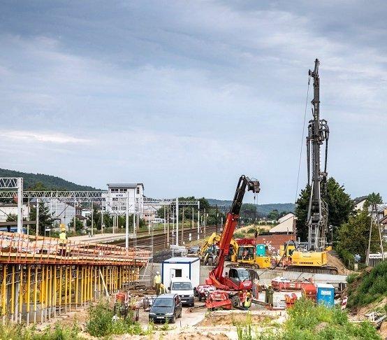 Rumia: pale i mikropale na budowie węzła z tunelem