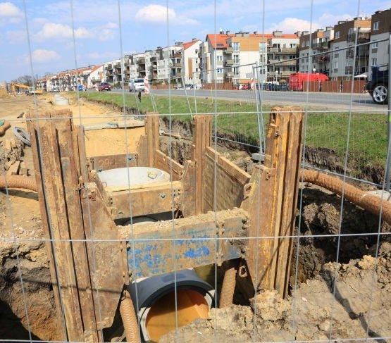 Gdańsk: kończy się budowa kanalizacji deszczowej w dzielnicy Osowa