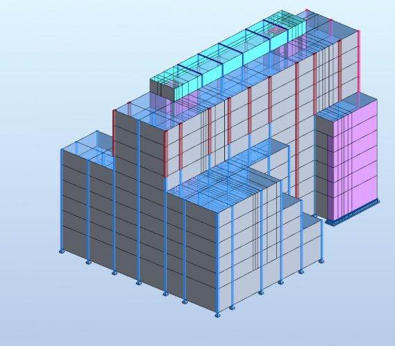Analiza wpływu różnych sposobów modelowania etapowania konstrukcji budynku na stany graniczne nośności i użytkowalności masywnej płyty fundamentowej współpracującej z układem baret
