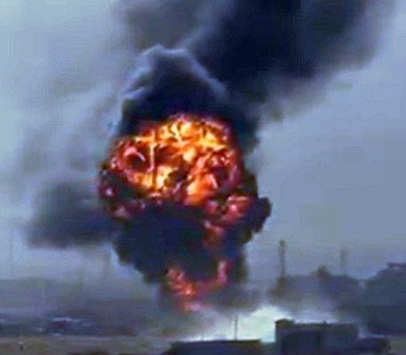 Syria bez prądu. Eksplozja gazociągu Arab Gas Pipeline [wideo]