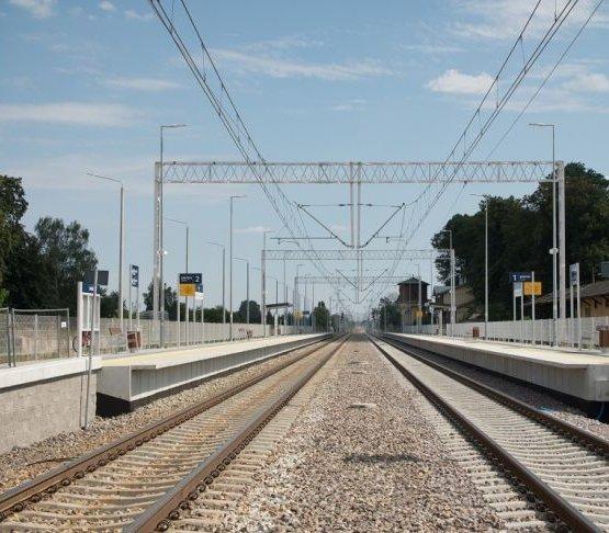 Koniec kolejnego etapu modernizacji linii kolejowej Lublin–Warszawa