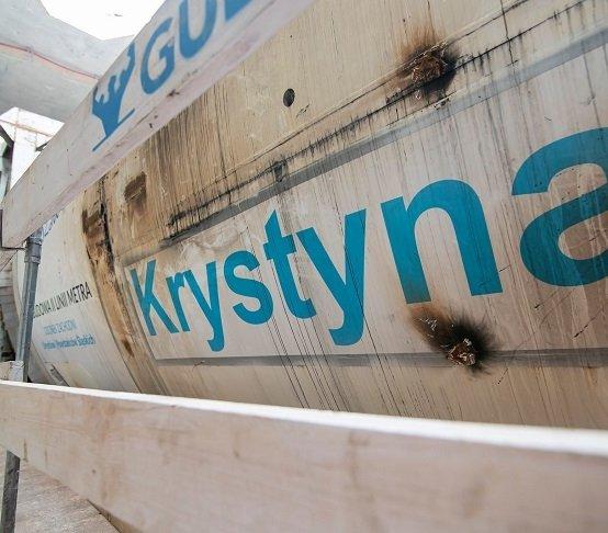 TBM Krystyna zaczęła drążenie nowego tunelu