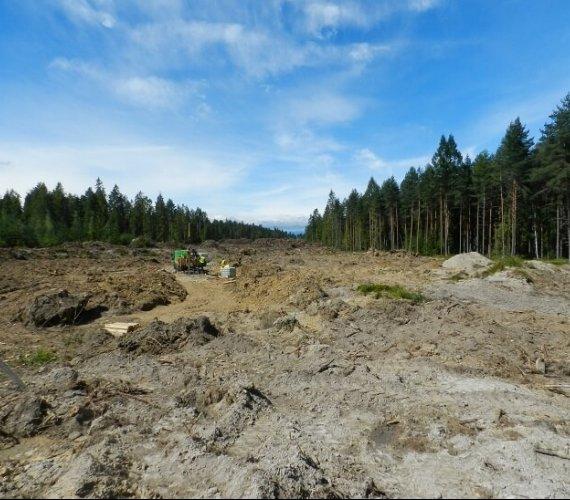 Badania geologiczne na budowie drogi Rdzawka–Nowy Targ