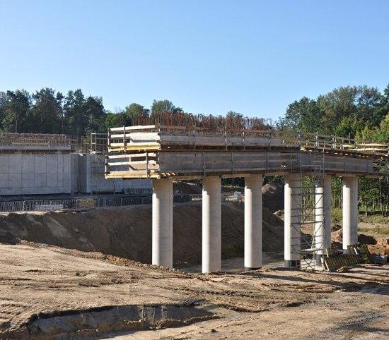 Najdłuższy obiekt mostowy na obwodnicy Kraśnika [zdjęcia]