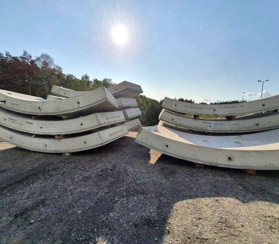 Ruszyła produkcja elementów obudowy tunelu w Świnoujściu [zdjęcia]