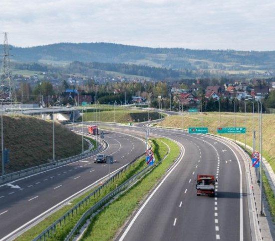 Pierwszy krok do budowy S7 – zakopianki z Krakowa do Myślenic