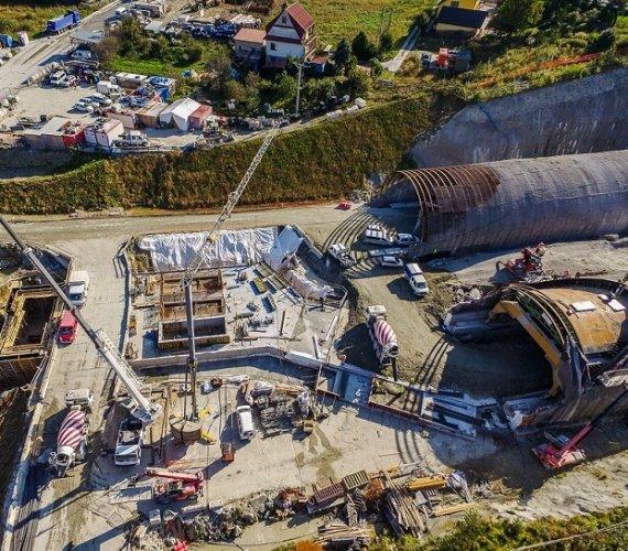 S7–zakopianka: koronawirus na budowie tunelu