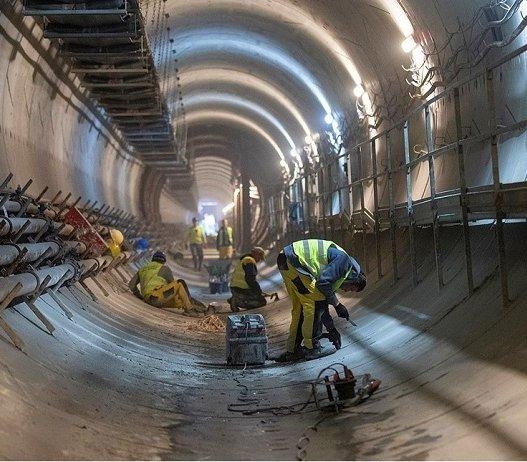 II linia metra: budowa łącznika między tunelami [zdjęcia]