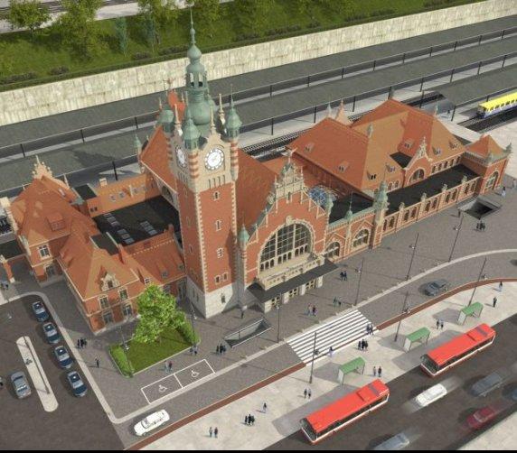 Dworzec Gdańsk Główny odzyska historyczny charakter