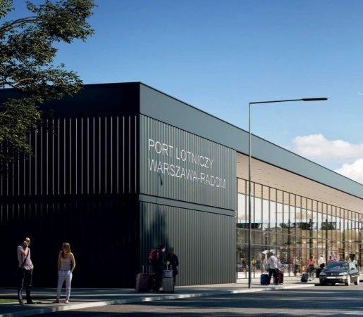 Lotnisko w Radomiu: budowa terminalu i nowa umowa