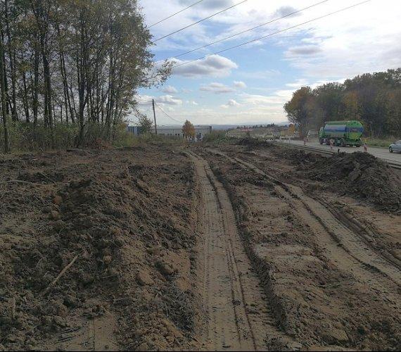 Rozbudowa drogi do Północnej Obwodnicy Krakowa