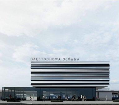 Powstanie projekt budynku dworca Częstochowa Główna