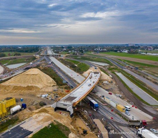 1230 km liczą drogi projektowane lub w budowie