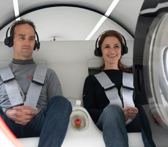 Virgin Hyperloop: pierwszy przejazd z pasażerami