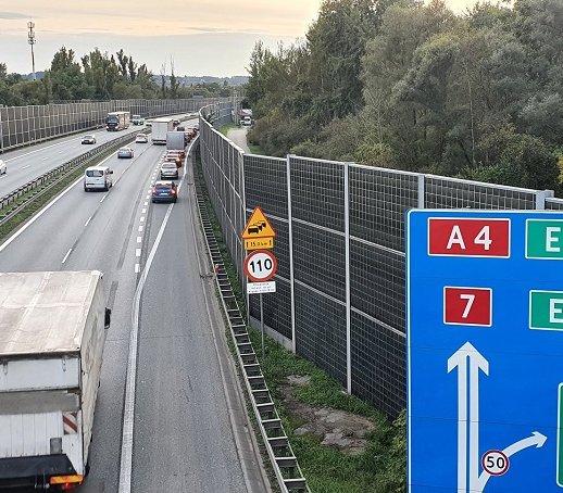Obwodnica Krakowa: podpisano umowę na dobudowę trzeciego pasa
