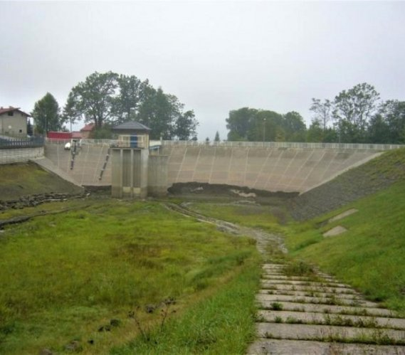Jest projekt techniczny rozbiórki zbiornika w Wilkowicach
