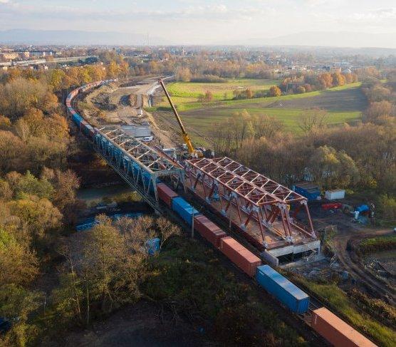 Czechowice-Dziedzice: powstaje most nad Wisłą. Inwestycja za 1,4 mld zł