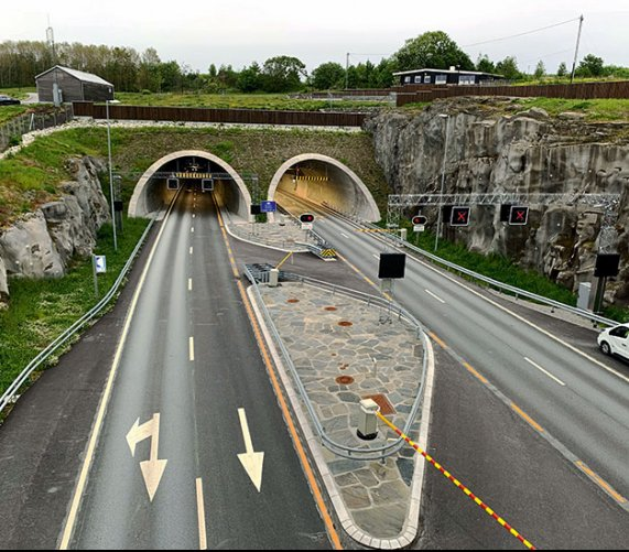 Norweski rekord tunelowy