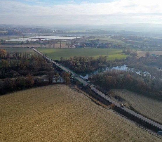 Małopolska: nowy most nad Sołą oddany do użytku