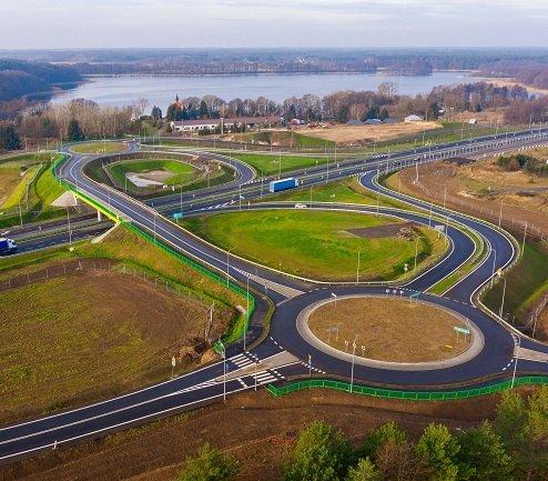 Zbliża się koniec budowy odcinka drogi S3 [zdjęcia]