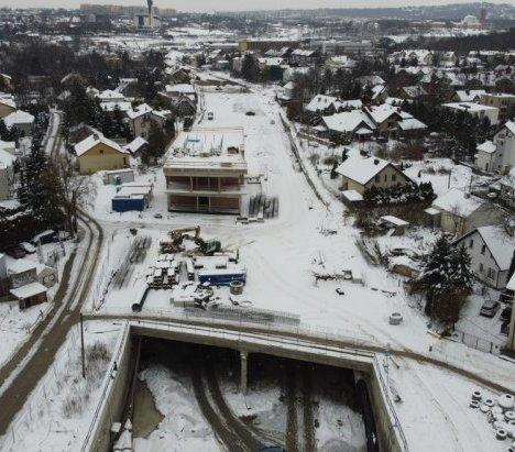 Kraków: Przebito ostatni tunel na budowie Trasy Łagiewnickiej