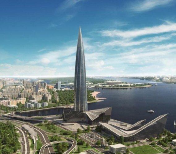 Najwyższy budynek w Europie niemal ukończony [filmy]