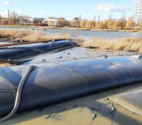 Umowa na odmulenie zbiornika w Rzeszowie