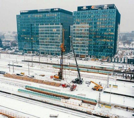 Przebudowa stacji Warszawa Zachodnia – wiele wyzwań dla geotechników