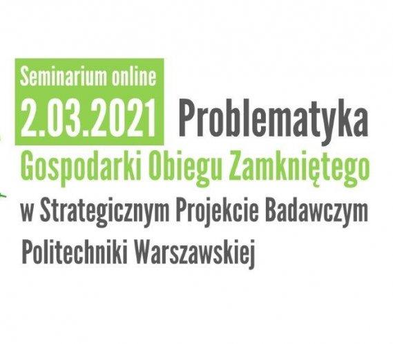 Gospodarka obiegu zamkniętego – strategiczny projekt badawczy PW