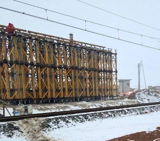 Obwodnica Wronek – zima nie zatrzymała robót mostowych