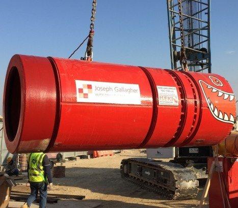 Zjednoczone Emiraty Arabskie: 13 maszyn MTBM na budowie kanalizacji