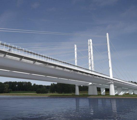 Budowa najdłuższego takiego mostu w Niemczech [wizualizacje, wideo]