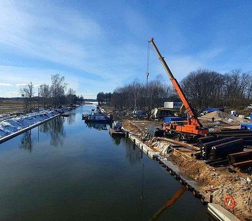 Remonty kanałów na szlaku Wielkich Jezior Mazurskich