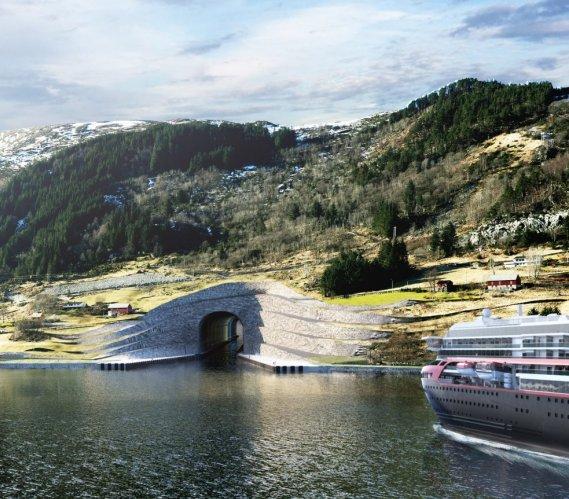 Pierwszy na świecie tunel dla statków: budowa ruszy za rok