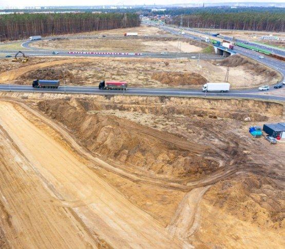 Rozbudowa S3/A6 z węzłem Szczecin Kijewo z dofinansowaniem UE