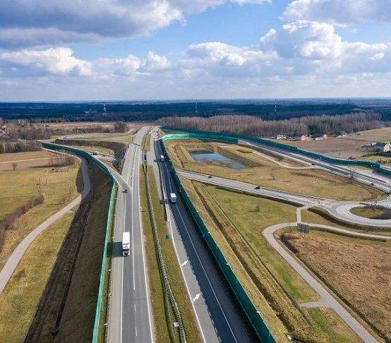 Budowa autostrady A2: umowy na dwa odcinki