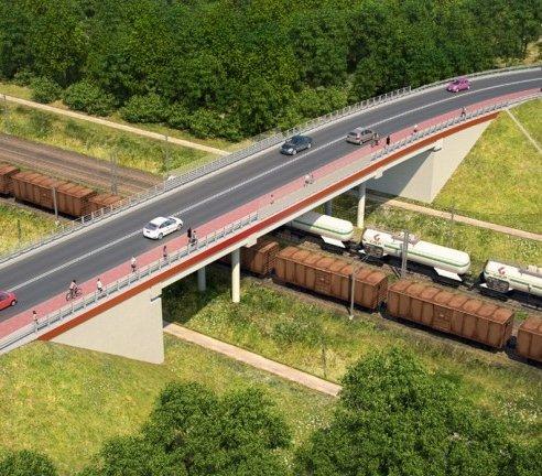 Rail Baltica: przetarg na budowę wiaduktu