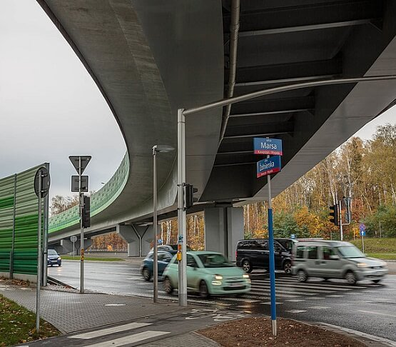 Budowa ważnej estakady w stolicy coraz bliżej