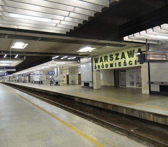 W Warszawie sprawdzą opcję połączenia I linii metra z dworcami kolejowymi w centrum